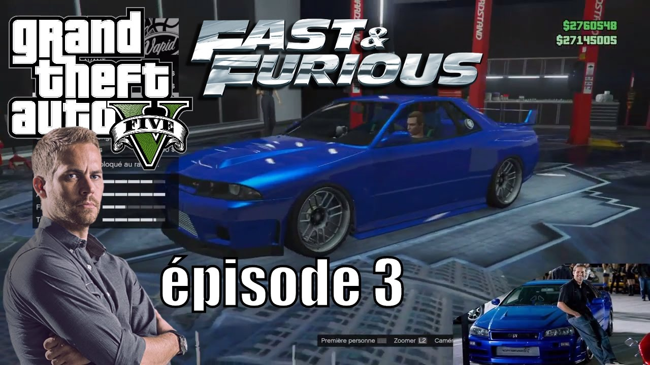 fast and furious dans gta 5 online avoir les voitures de brian pisode 3 mrjksaw youtube. Black Bedroom Furniture Sets. Home Design Ideas