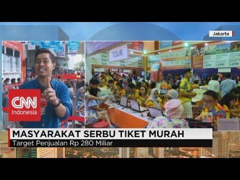 Serbu Tiket Murah di Garuda Airlines Travel Fair