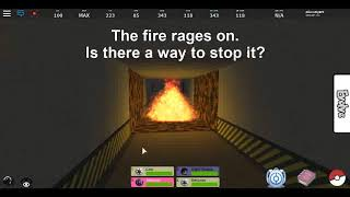 how to bypass fire and fog in pokemon fighters ex | roblox