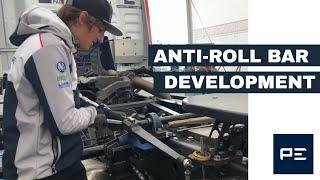Hungaroring Truck  Racing - Anti Roll Bar Blades Development