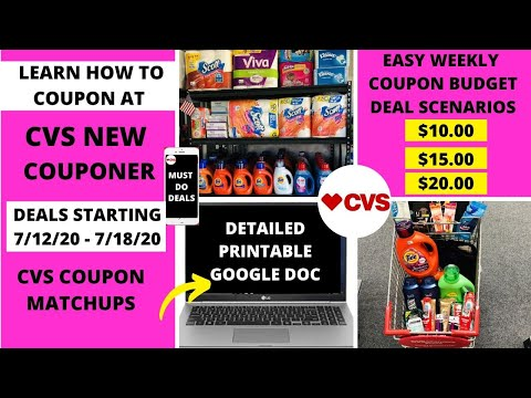 Easy Free Cheap Cvs Deals Starting 7 12 20 Cvs Coupon Matchups Deal Breakdowns Come With Me Youtube