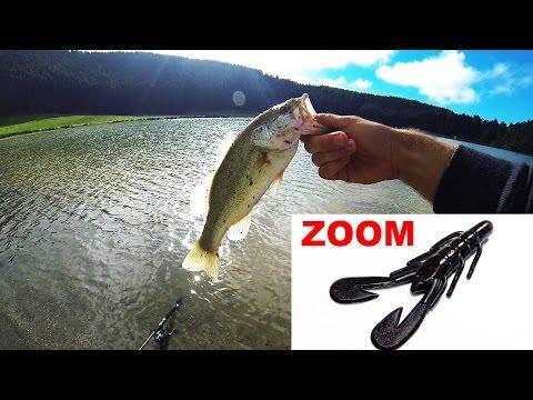 Bass Fishing ZOOM Ultravibe Speed Craw