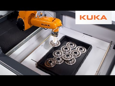 Robotic 3D Bin Picking of Unsorted Clutch Discs With KR AGILUS