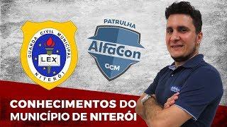 Aula de Conhecimentos do Município de Niterói - Prof. Italo Trigueiro - Patrulha AlfaCon