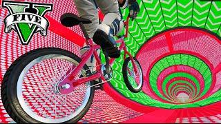 GTA V BMX ACROBATICO HIPER DIFICIL XDD !! PARKOUR DE BMX EN GTA ONLINE Makiman