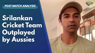 Srilankan Cricket Team outplayed by Aussies | Salman Butt | TSC
