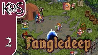 Tangledeep Ep 2: FOOD FOR DAYS! - RPG Roguelike - Let