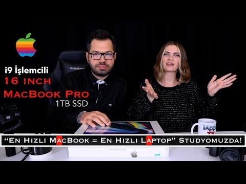 Yeni MacBook Pro 16 Inç (i9 Işlemci 1TB SSD) Kutu Açılımı Ön İnceleme