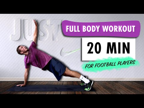 FULL BODY WORKOUT For Football Players | BODYWEIGHT | Improve Your Strength & Get Fit | Advanced