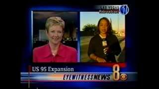 9/20/2002 Paula Francis & Polly Gonzalez, KLAS-TV Ch. 8, Las Vegas, Eyewitness News, Sept. 20, 2002.