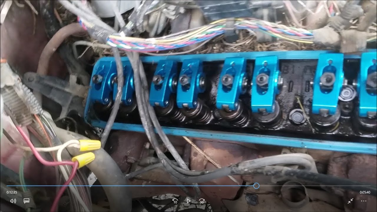 misadventures of installing roller rocker arms on my Silverado ...