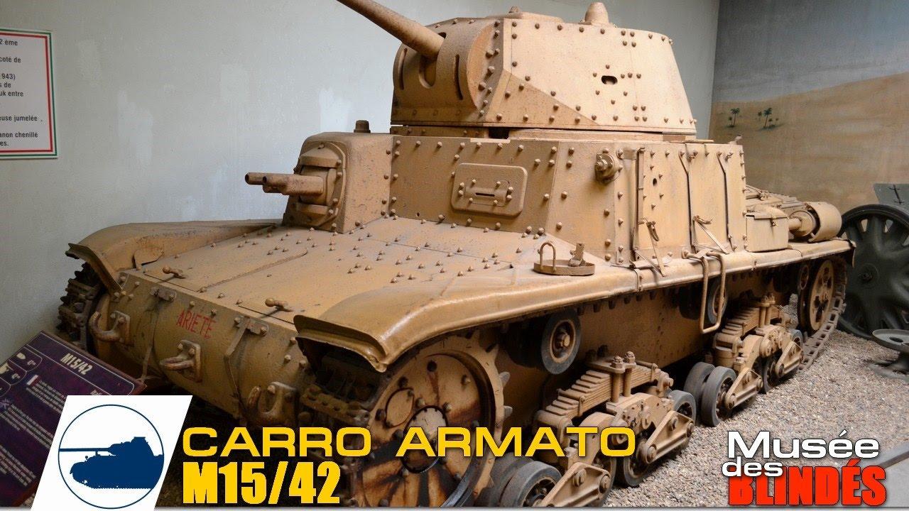 Carro Armato M15/42, Brach Model BM-074