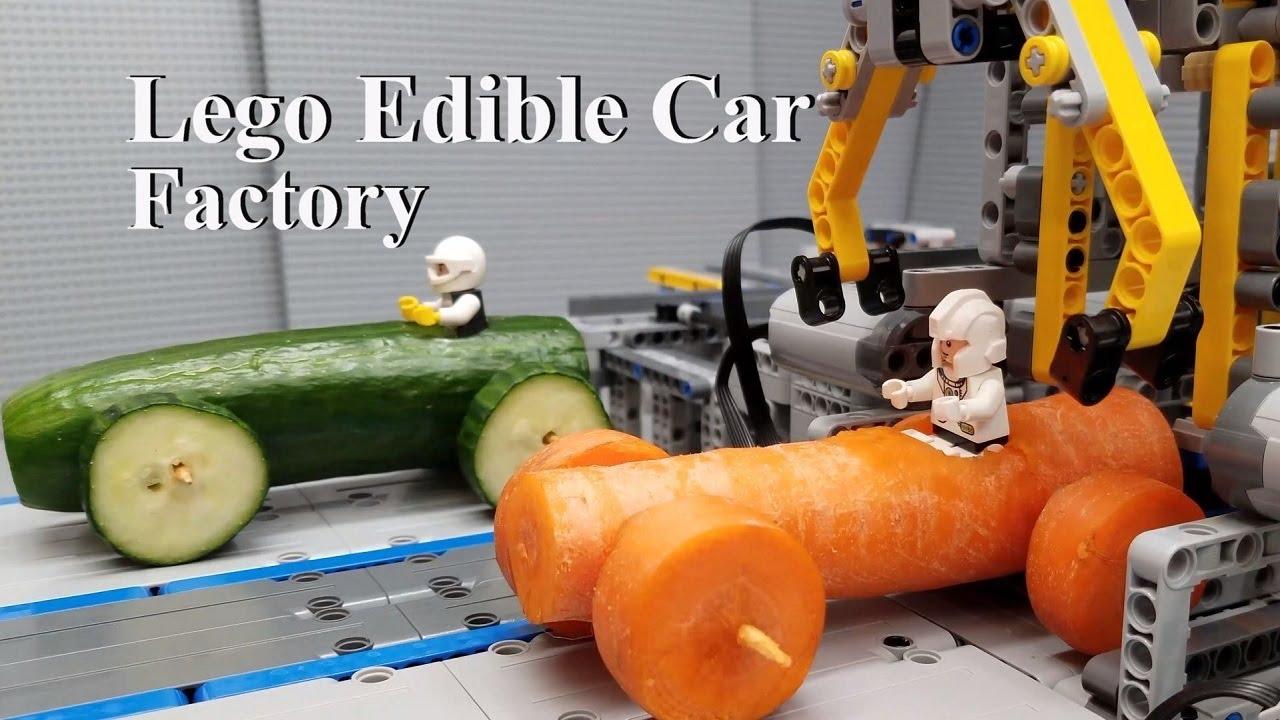 Lego Edible Car Factory