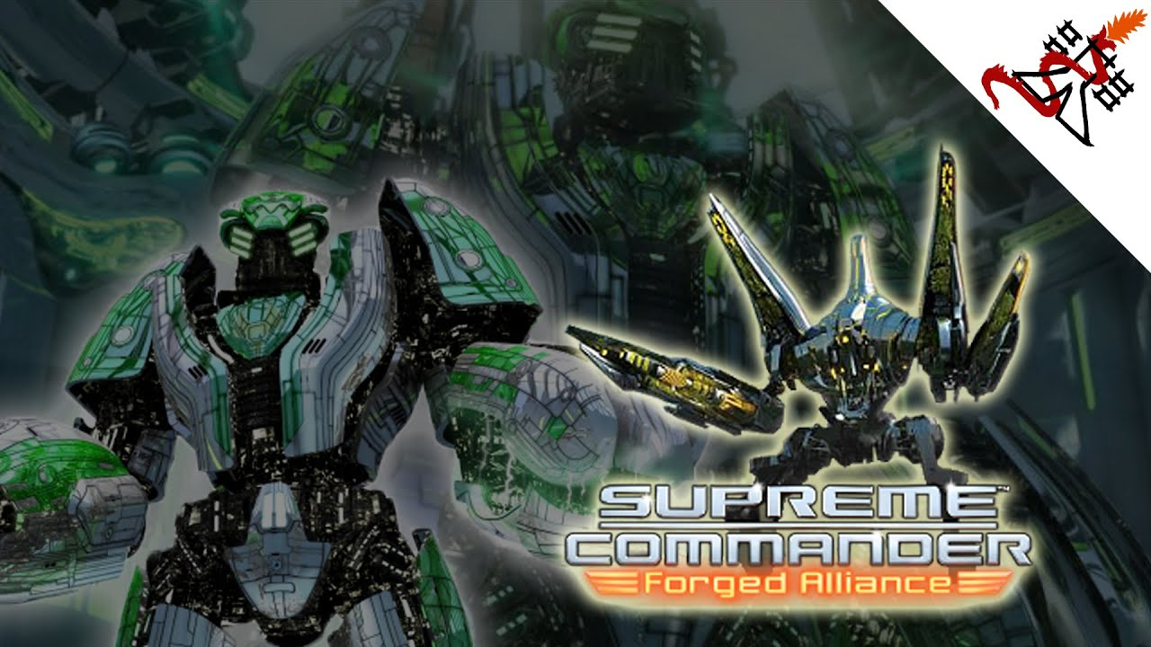 Supreme Commander Forged Alliance Red Flag Mission 3 Part Two