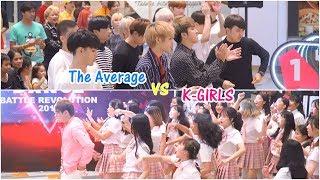 180916 【3rd Place Battle】 The Average vs K-GIRLS - LATATA + Baepsae @ SHOW DC (Final)