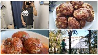 Vlog : Начала бегать/ Готовлю ужин и вкуснейшее печенье / Простые рецепты