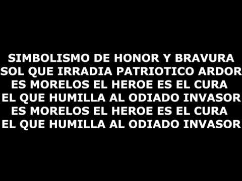 HIMNO A JOSE MARIA MORELOS Y PAVON 2016