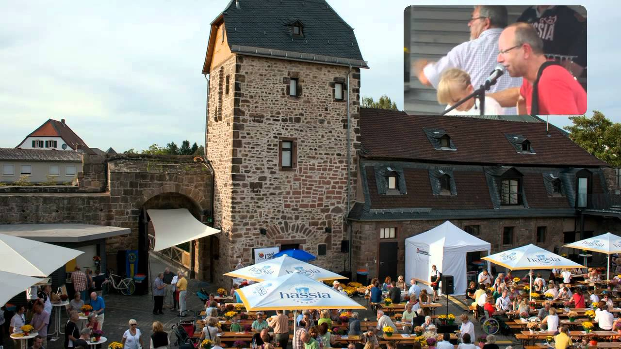 weinfest in der wasserburg bad vilbel 2011 youtube. Black Bedroom Furniture Sets. Home Design Ideas