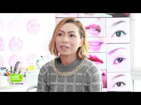 """สร้างอาชีพกูรู : สัมภาษณ์ """"EYEBROW Beauty Design"""" สถาบัน Bangkok Beauty Academy : สร้างอาชีพทีวี"""