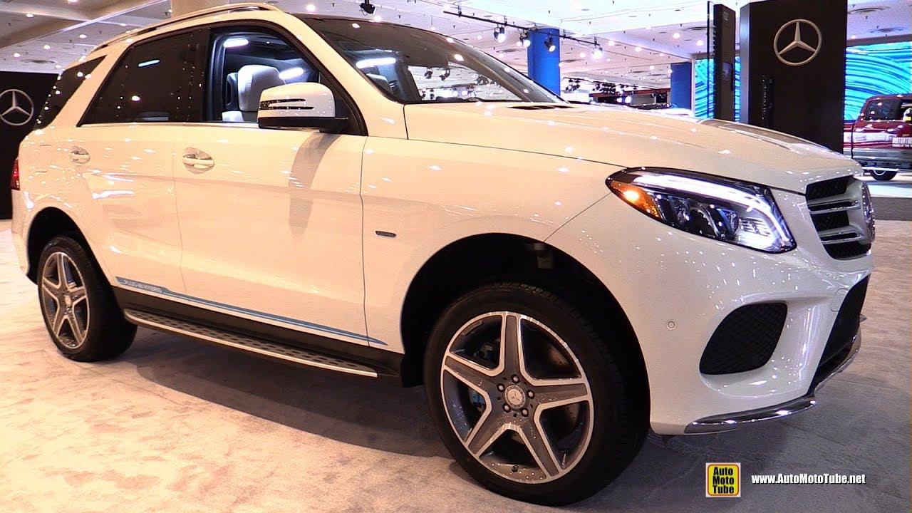 2017 Mercedes Gle550e 4matic Plug In Hybrid Exterior Interior Walkaround New York Auto Sh