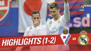 Resumen de SD Eibar vs Real Madrid (1-2)