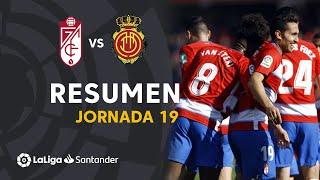 Resumen de Granada CF vs RCD Mallorca (1-0)