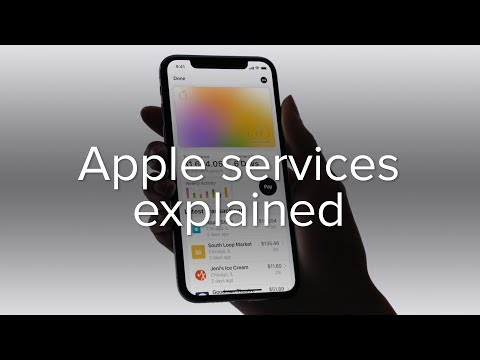Apple News+, Apple Arcade, Apple TV+, and Apple Card explained