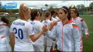 Inglaterra 1 vs México 1 Copa Mundial Femenina Sub 20 de la FIFA Canadá 2014