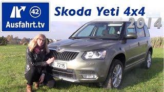 2013 / 2014 Skoda Yeti 2.0 TDI 4x4 DSG - Fahrbericht der Probefahrt- Test - Review