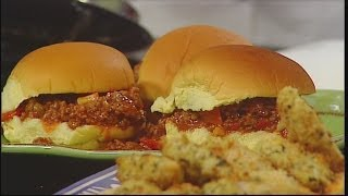 Mass Appeal Kid Friendly Foods: Sloppy Joes And Chicken Fingers!