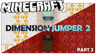 Minecraft | THE DEAD HALLS | Dimension Jumper 2 part 2 Custom Map