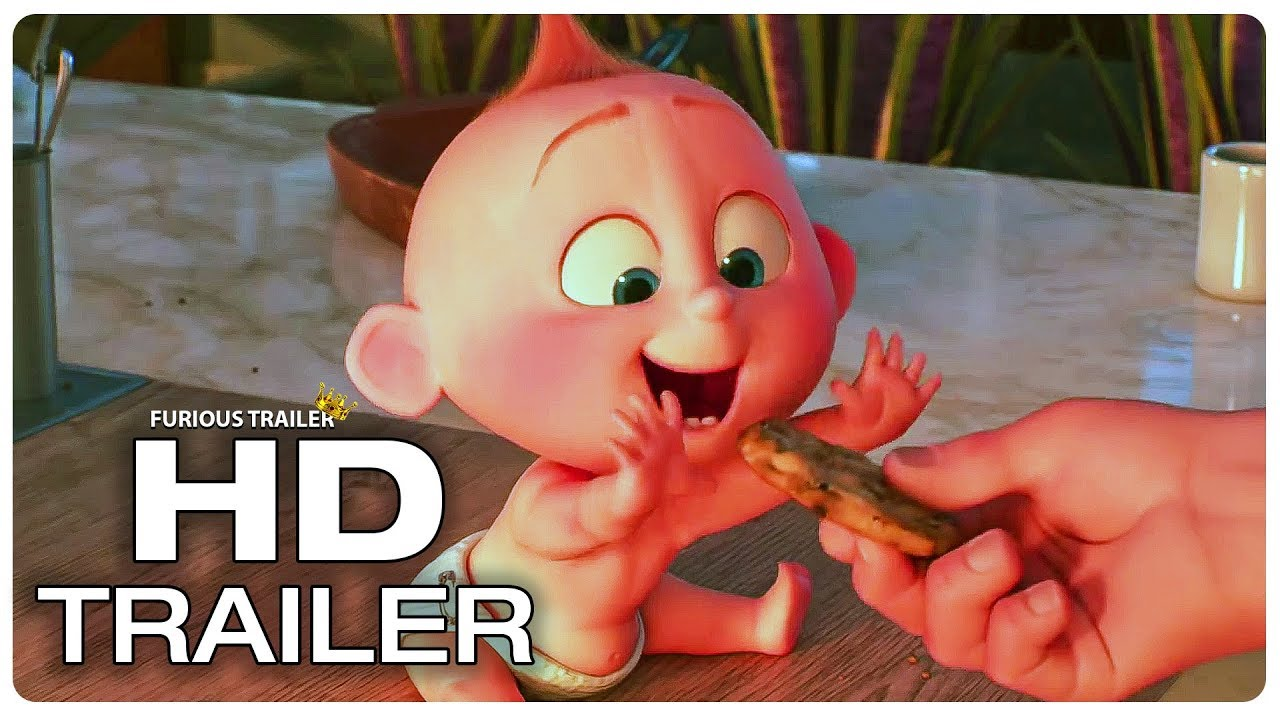 Incredibles 2 Feeding Jack Jack Cookies Movie Clip Trailer New 2018 Superhero Movie Hd Youtube