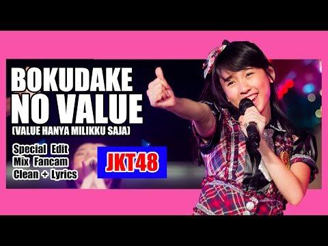 [Clean + Lirik] JKT48 - Bokudake no Value @ Countdown Festival 2016