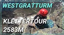 🧗♂️ Klettertour am Westgratturm oberhalb der Sewenhütte, Kanton Uri [4K]