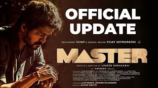 Master Official Update | Thalapathy Vijay