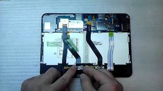 T531 Readygo Repair Tools,Completely fit and Work Replace//Replacement Power Button and Volume Button Flex Cable for Galaxy Tab 4 10.1 T530