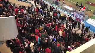 بعد تعادل الزمالك أمام «الجيش».. جماهير الأهلي تشعل «بتروسبورت» بهتاف: «الدوري يا أهلي»