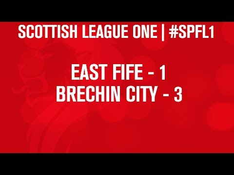 #SPFL League One | East Fife 1-3 Brechin City | 21/12/13