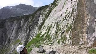 Zugspitze Aufstieg über Höllental Juni 2015