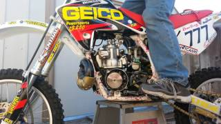 2001 CR80 big wheel Edition with an 89 CR250 motor in it