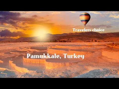 Travelers Choice:pamukkale || Places To Travel In Turkey