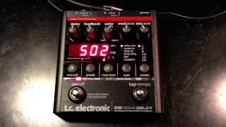 TC Electronic Nova Delay ND-1
