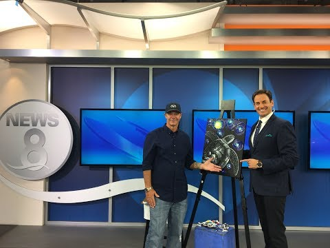 Wyland celebrates 40 years of Art & Conservation on CW San Diego News 8