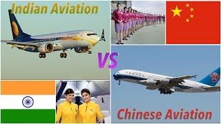 Indian Aviation VS Chinese Aviation [2018]