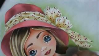 Como pintar boneca – Projeto Boneca Bruna com Cristina Ribeiro