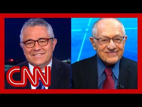 Toobin and Dershowitz examine impeachment arguments