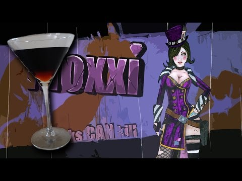 How to make Mad Moxxi's Cocktail (Borderlands 2)