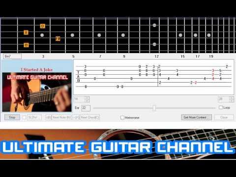 Guitar Solo Tab] I Started A Joke (Bee Gees) - YouTube