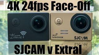 4K 24fps Video Comparison: SJCAM 5000x Elite v. Extral-Excelvan SJ9000 4K Ultra