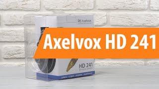 Розпакування Axelvox HD 241 / Unboxing Axelvox HD 241